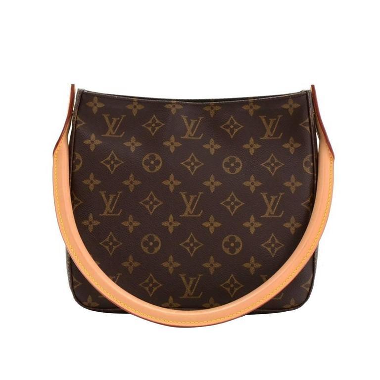 efaf2b735105 HomeFashionHandbags and PursesShoulder Bags. 2001 Louis Vuitton Brown  Monogram Canvas Looping MM For Sale