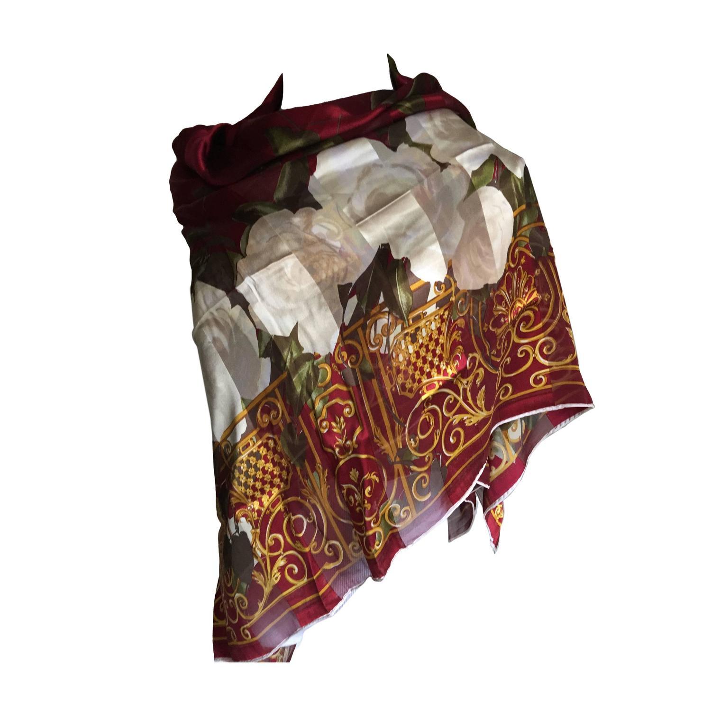 gorgeous christian silk scarf at 1stdibs
