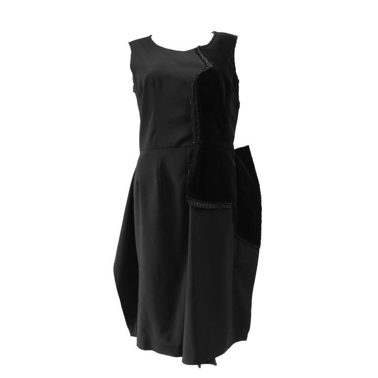 2005 Comme Des Garcons Little Black Dress