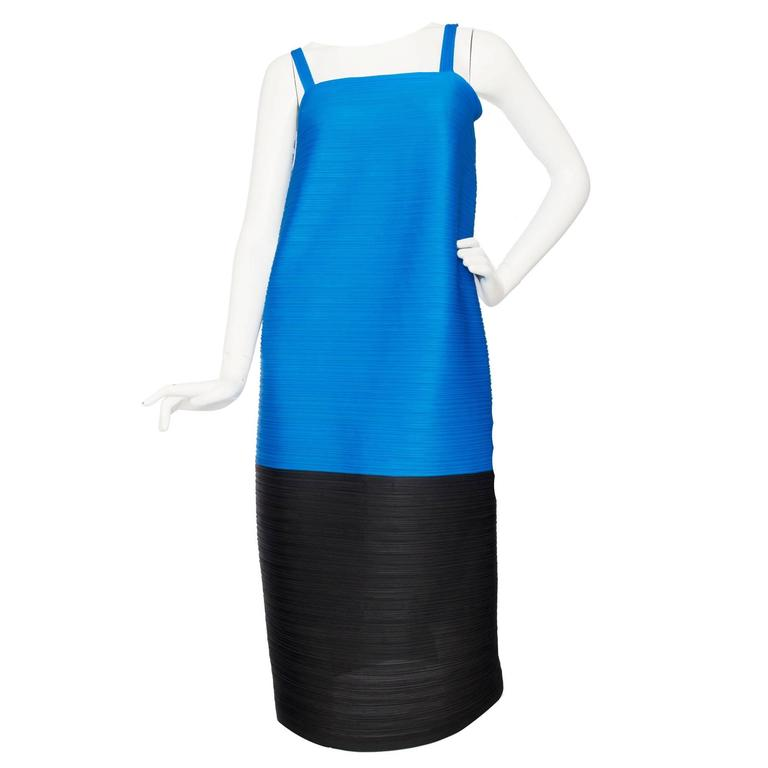 1980s Pleats Please Dress by Issey Miyake  For Sale