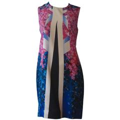 Peter Pilotto 2014 Aureta Floral Print Dress (12 UK)