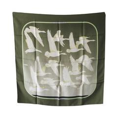 Authentic Hermes Vintage-oiseaux Migrateur Silk Scarf- Rare