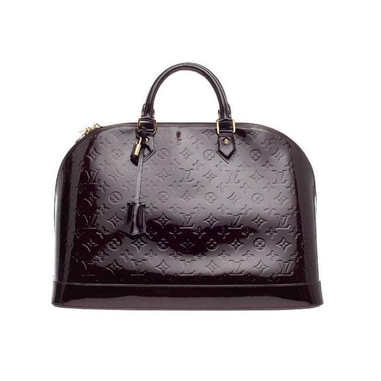 Louis Vuitton Alma Monogram Vernis GM For Sale