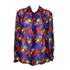 Versace Silk Shirt - 1997