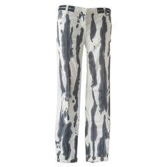 2000s Balmain Monochromatic trousers