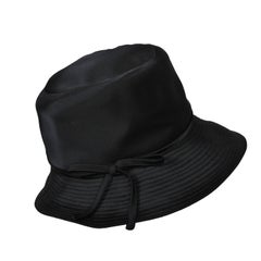 Betmar Black Satin Hat