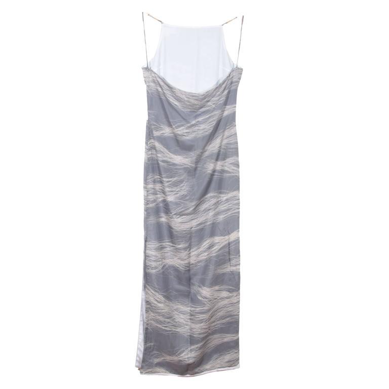 Silk cami maxi dress