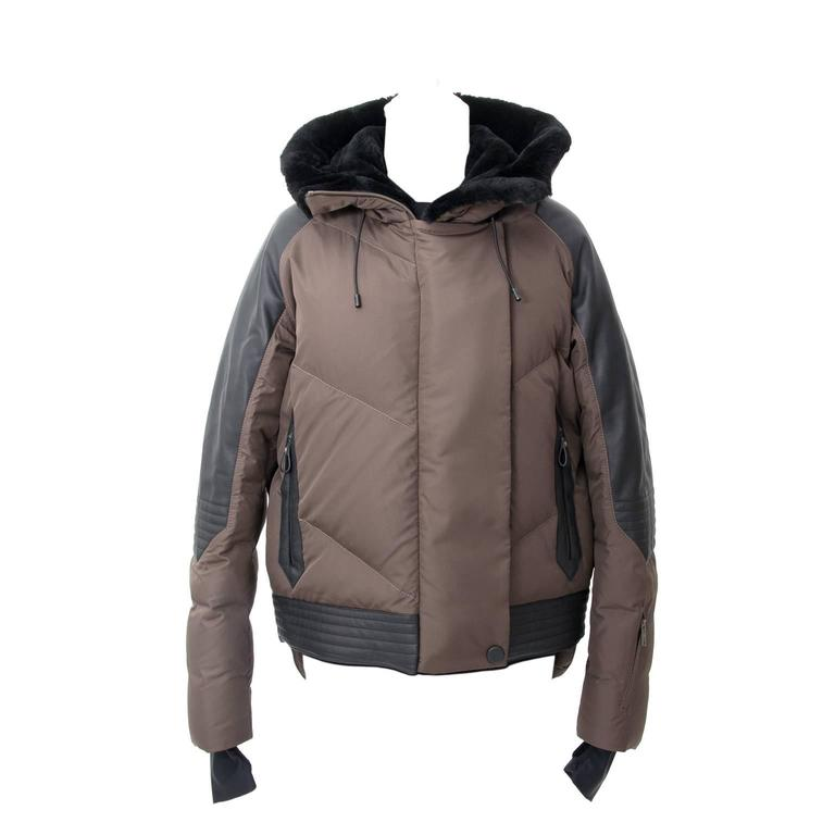 Hermès Puffer Coat Doudoune Beaver Hood
