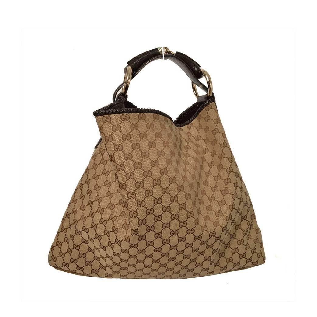 Gucci Large Horsebit Hobo Bag at 1stdibs