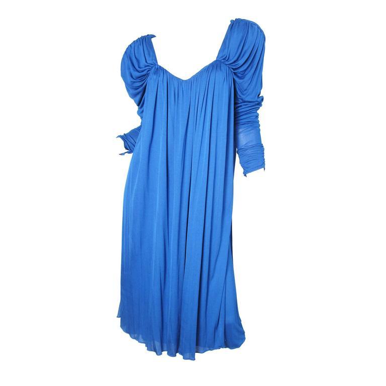 1980s Holly's Harp Dress
