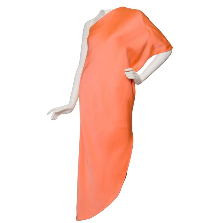 1960s Givenchy Haute Couture Silk Dress For Sale