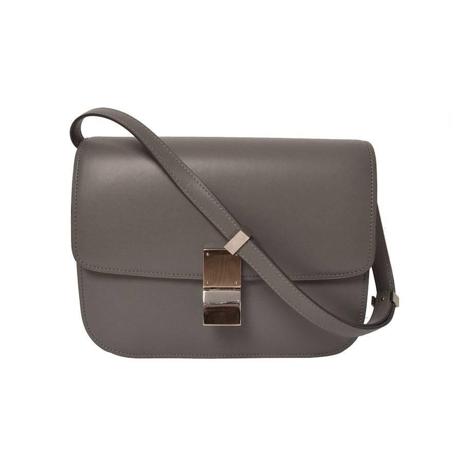 b94a1bfd98a2 ... sac celine trapeze - C  line Grey Box Bag at 1stdibs ...