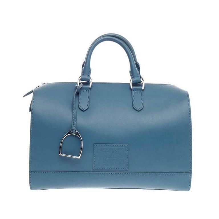03309b5a74 Ralph Lauren Stirrup Boston Bag Vachetta Leather at 1stdibs
