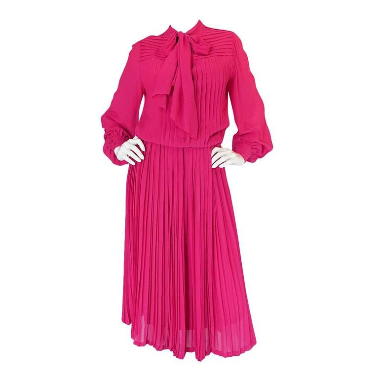 Circa1976 haute couture louis feraud day dress for sale at for Where to buy haute couture dresses