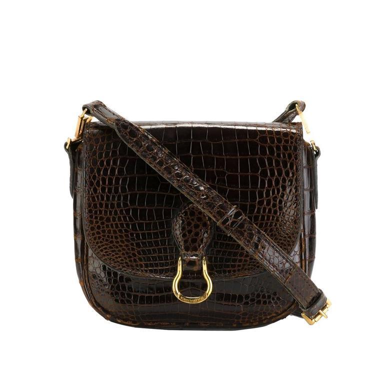 Louis Vuitton Vintage Crocodile St Cloud Bag