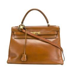 Hermes Brown 32cm Kelly Bag