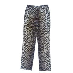 Moschino Cheap and Chic Leopard Print Jeans Made in Italy