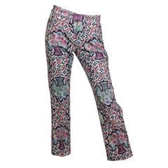 Yohji Yamamoto Victorian Print Trousers