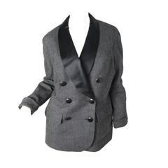 Christian Dior Tuxedo Jacket, 1980s