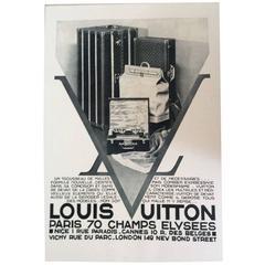 Louis Vuitton  Vintage Ad Print - 1930's