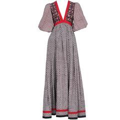 Thea Porter Peasant Dress