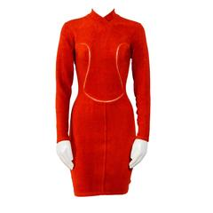 Vintage 90's Iconic ALAIA stretch dress