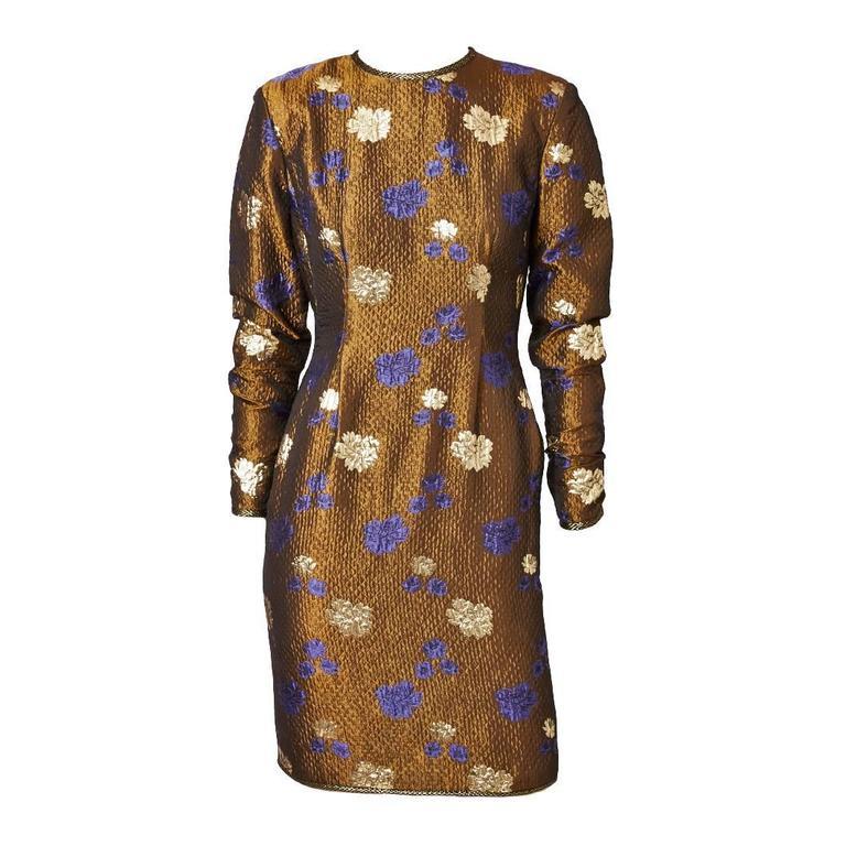 Geoffrey Beene Brocade Dress