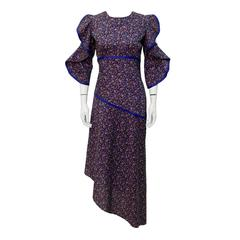 1960's Annacat Liberty Floral Print Dress