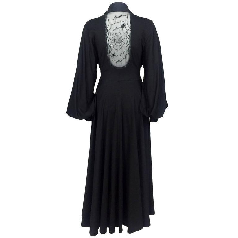 Jean Varon 'Cobweb' Dress - Fall/Winter 1973