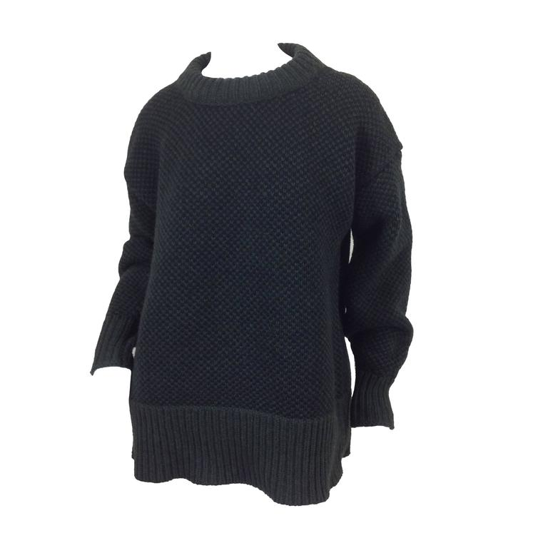 The Row birds eye cashmere blend sweater    size XS 1