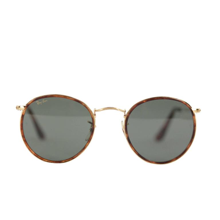 Eyeglass Frame Repair Fort Worth : Gold Ray Band With Green Lenses Sunglasses - Highgate Park