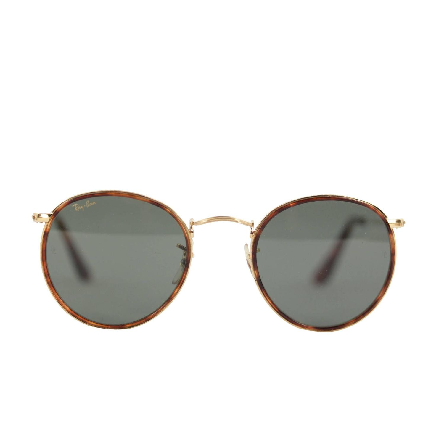 Ray Ban Vintage Glasses Frames : RAY BAN B&L Vintage Gold and tortoise look W1674 ...
