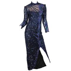 Bob Mackie Beaded Gown