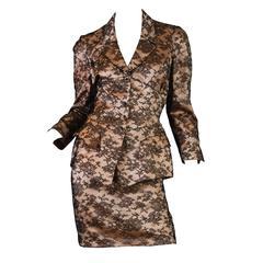 Thierry Mugler Lingerie Lace Suit