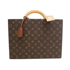 Louis Vuitton Rare Monogram Boite Bijoux Jewelry Traveling Carrying Case