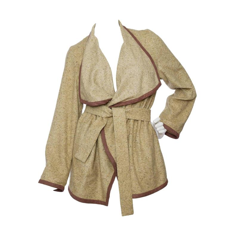 1980s Wool & Silk Thierry Mugler Cardigan  1