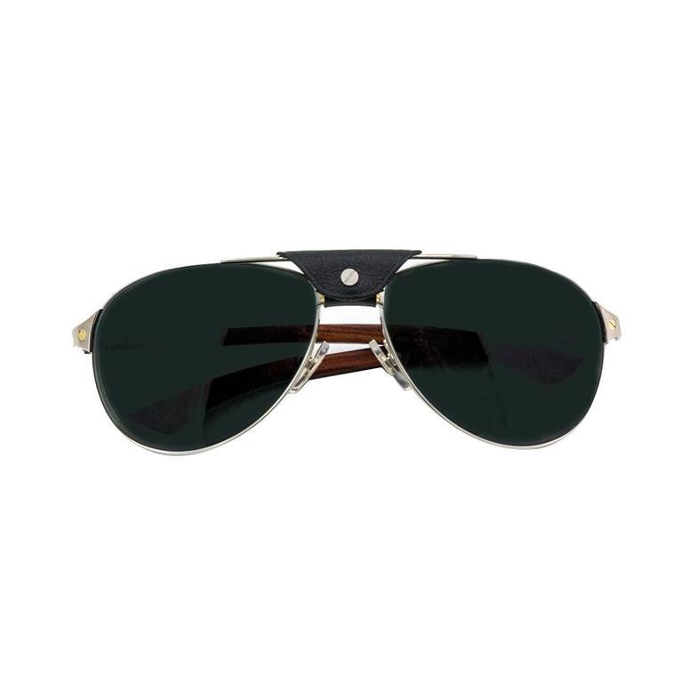 1f646d1f98069 Cartier Santos Dumont Aviator Sunglasses at 1stdibs