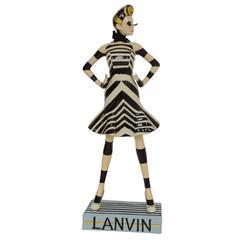 Lanvin Ltd Ed. Miss Lanvin 46 Porcelain Figurine RT. $685