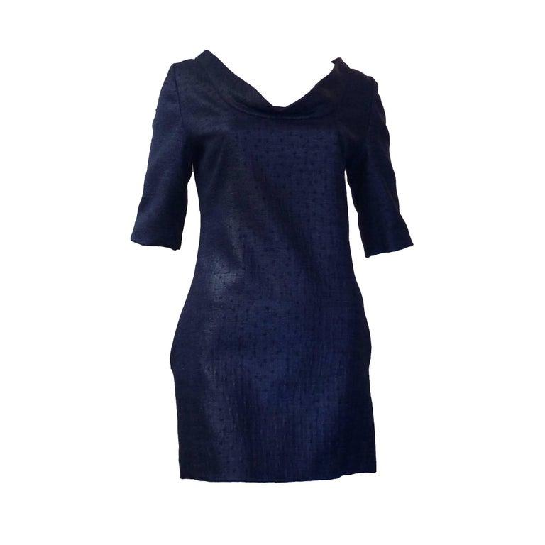 Douglas Hannant Tussah Silk Tunic/Mini Dress (2) For Sale