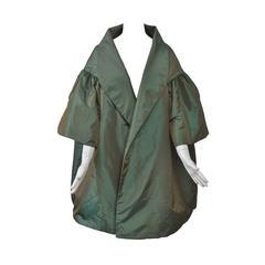 Victor Cosa Iridescent Evening Coat
