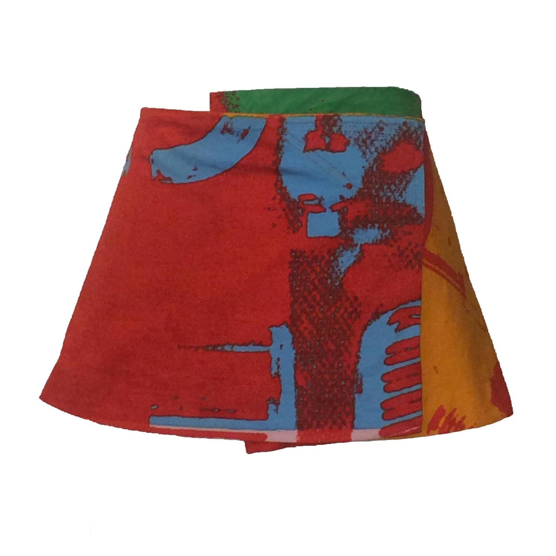 Velcro Micro Mini Skirt - Plaid Mini Skirt