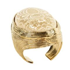 Unique and Impressive Cuff by Yves Saint Laurent