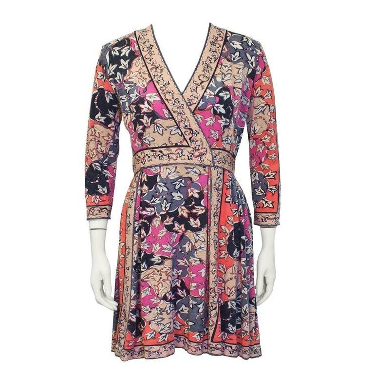 1970's Emilio Pucci Cashmere Knit Dress For Sale
