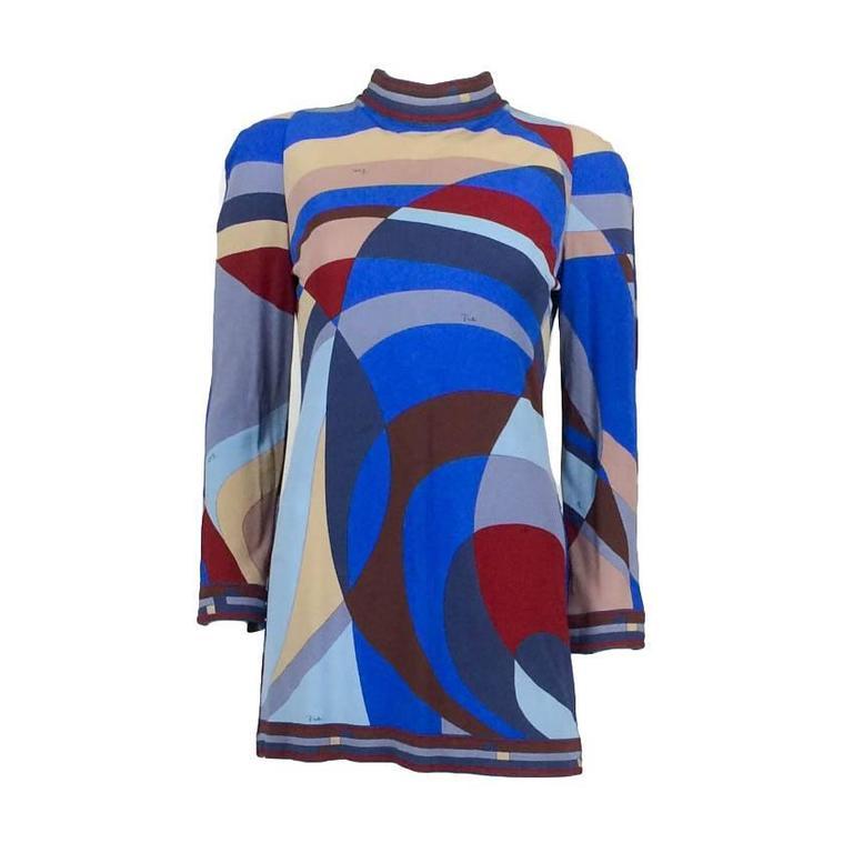 Emilio Pucci Mini-Dress - 1980s