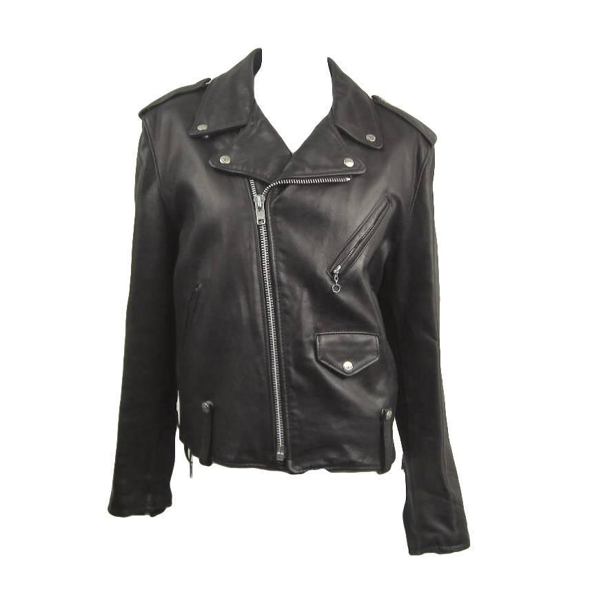 Schott Nyc Perfecto Motorcycle Leather Jacket New Old