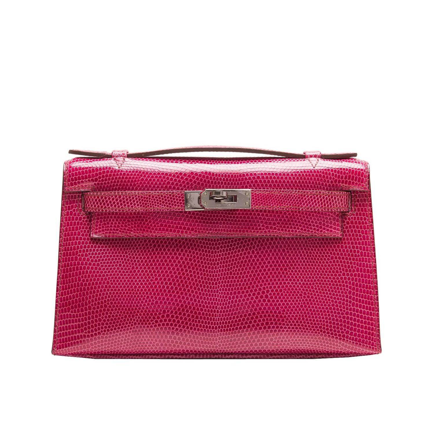 hermes capucine kelly pochette swift palladium hardware