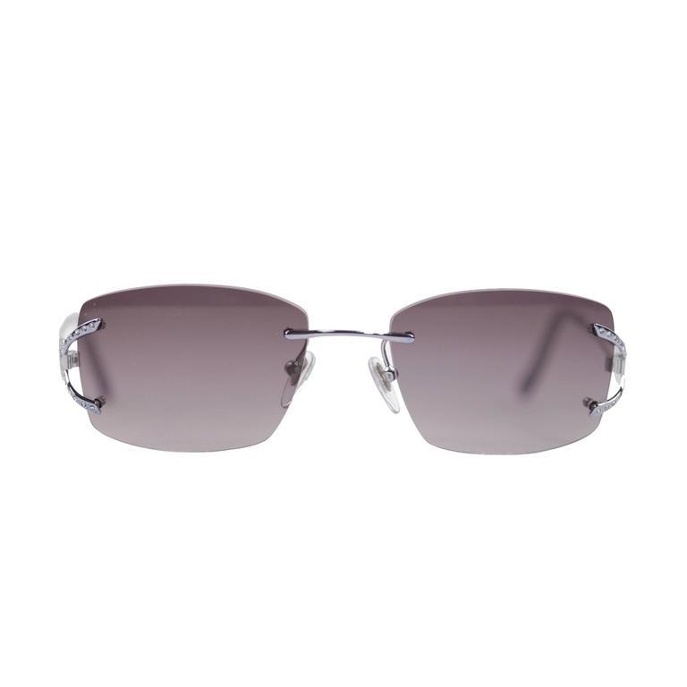 SALVATORE FERRAGAMO sunglasses silver/blue eyewear 1648-B 545 53/16 135