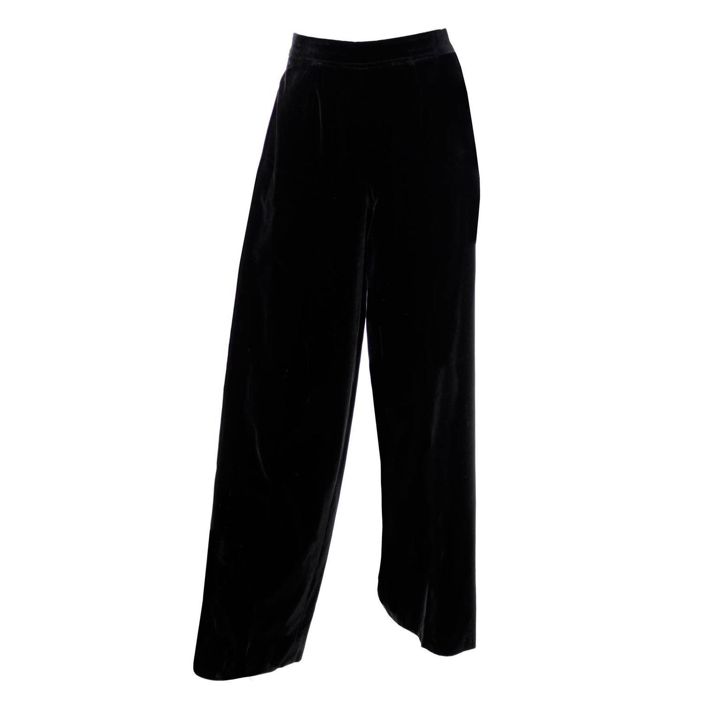 5bb100d0 Vintage Yves Saint Laurent Pants - 43 For Sale at 1stdibs