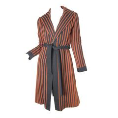 1970s Oscar de la Renta Knit Coat