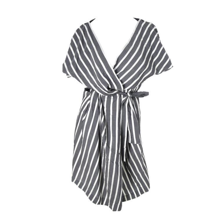 585f3f1d15 Vivienne Westwood Anglomania Striped Sack Dress at 1stdibs